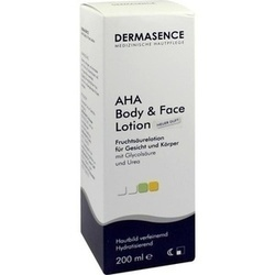 DERMASENCE AHA BODY LOTION